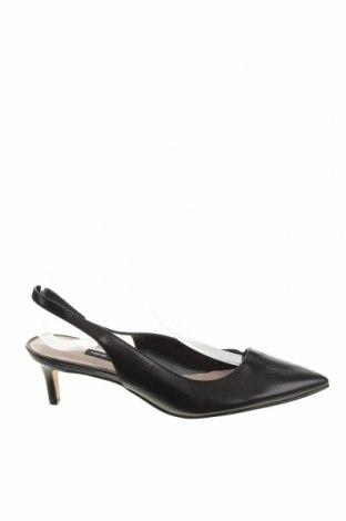 Дамски обувки Nine West, Размер 37, Цвят Черен, Естествена кожа, Цена 65,10лв.