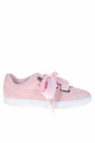 Γυναικεία παπούτσια PUMA, Μέγεθος 40, Χρώμα Ρόζ , Φυσικό σουέτ, Τιμή 23,01€