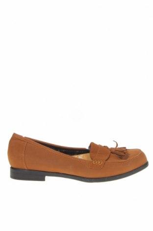 Дамски обувки Rivers, Размер 39, Цвят Кафяв, Еко кожа, Цена 21,74лв.