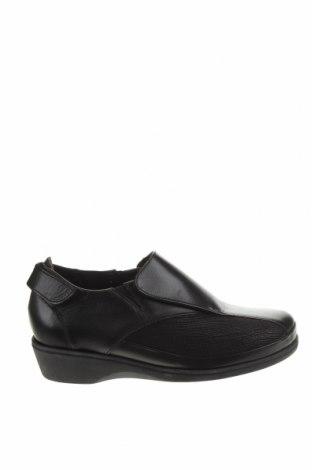 Дамски обувки Scholl, Размер 36, Цвят Черен, Естествена кожа, текстил, Цена 63,21лв.