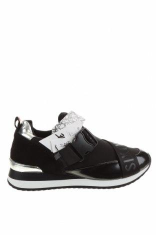 Дамски обувки Sixty Seven, Размер 36, Цвят Черен, Естествен велур, естествена кожа, текстил, Цена 69,02лв.