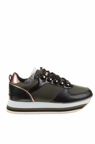 Дамски обувки Sixty Seven, Размер 40, Цвят Черен, Текстил, еко кожа, Цена 61,41лв.
