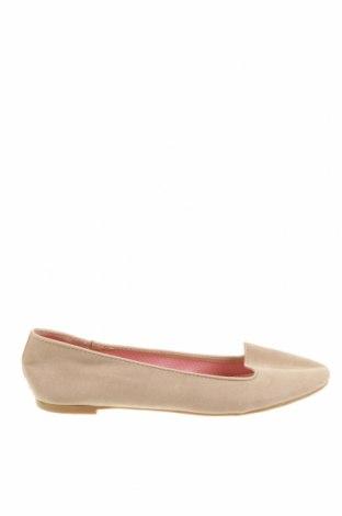 Дамски обувки Suite Blanco, Размер 38, Цвят Бежов, Текстил, Цена 35,40лв.