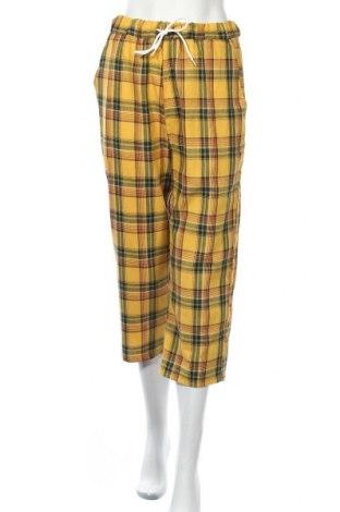 Дамски панталон, Размер S, Цвят Жълт, Цена 9,16лв.