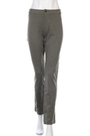 Дамски панталон Active Basic USA, Размер XXL, Цвят Зелен, 68% вискоза, 27% полиамид, 5% еластан, Цена 17,64лв.
