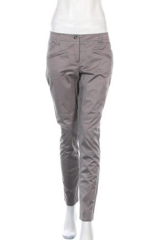 Дамски панталон Alba Moda, Размер M, Цвят Сив, 97% памук, 3% еластан, Цена 23,80лв.
