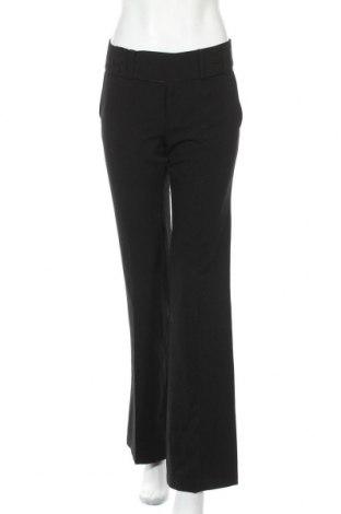 Дамски панталон Ann Christine, Размер L, Цвят Черен, 63% полиестер, 33% вискоза, 4% еластан, Цена 28,93лв.