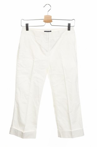 Дамски панталон Ann Taylor, Размер S, Цвят Бял, 98% памук, 2% еластан, Цена 9,14лв.