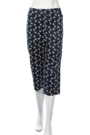 Дамски панталон Ann Taylor, Размер XL, Цвят Син, 97% памук, 3% еластан, Цена 33,60лв.