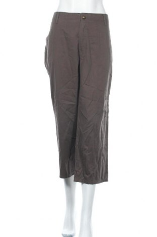 Дамски панталон Anna Montana, Размер XL, Цвят Зелен, Памук, Цена 24,15лв.