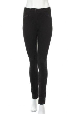Дамски панталон Armani Jeans, Размер XL, Цвят Черен, 67% вискоза, 28% полиамид, 5% еластан, Цена 90,30лв.
