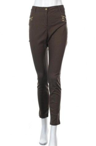 Дамски панталон Ashley Brooke, Размер L, Цвят Зелен, Цена 21,26лв.