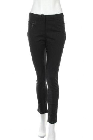 Дамски панталон Ashley Brooke, Размер S, Цвят Черен, 48% памук, 45% полиестер, 7% еластан, Цена 21,26лв.