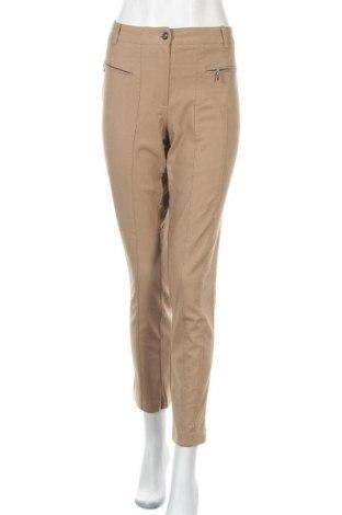 Дамски панталон Ashley Brooke, Размер L, Цвят Бежов, 76% вискоза, 21% полиамид, 3% еластан, Цена 14,49лв.