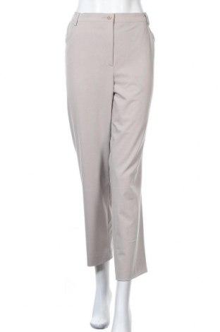 Дамски панталон Atelier GS, Размер XL, Цвят Бежов, 59% полиестер, 35% вискоза, 6% еластан, Цена 16,17лв.