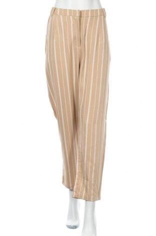 Дамски панталон Atmos & Here, Размер XL, Цвят Бежов, Полиестер, Цена 51,45лв.