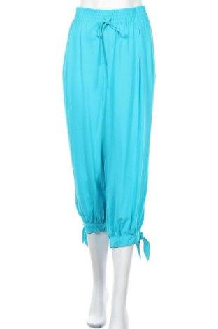 Дамски панталон Beme, Размер XXL, Цвят Син, Вискоза, Цена 13,86лв.