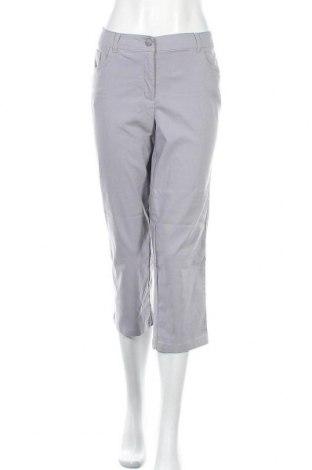Γυναικείο παντελόνι Charles Vogele, Μέγεθος L, Χρώμα Γκρί, 70% βισκόζη, 26% πολυαμίδη, 4% ελαστάνη, Τιμή 13,64€