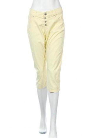 Γυναικείο παντελόνι Charles Vogele, Μέγεθος M, Χρώμα Κίτρινο, Τιμή 12,99€