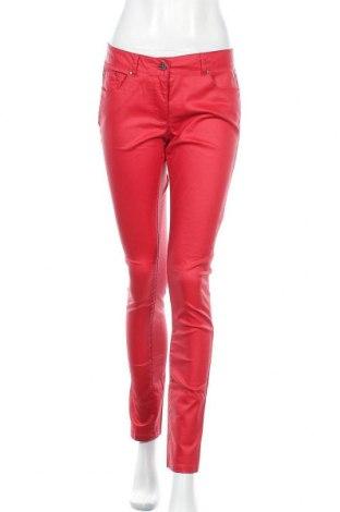 Дамски панталон Colours Of The World, Размер M, Цвят Червен, 60% памук, 37% полиестер, 3% еластан, Цена 14,18лв.