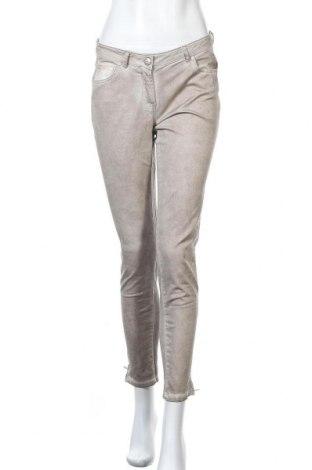Дамски панталон Colours Of The World, Размер S, Цвят Бежов, 98% памук, 2% еластан, Цена 13,23лв.