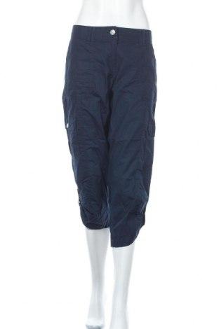 Дамски панталон Colours Of The World, Размер XL, Цвят Син, Памук, Цена 22,31лв.