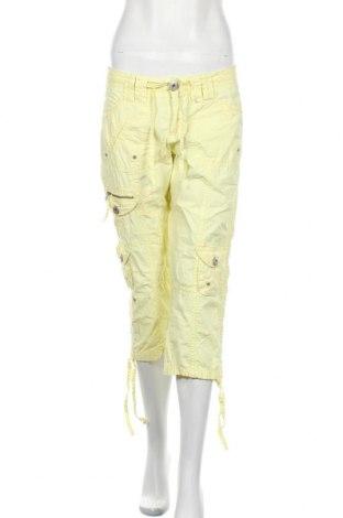 Дамски панталон Colours Of The World, Размер S, Цвят Жълт, Памук, Цена 6,83лв.