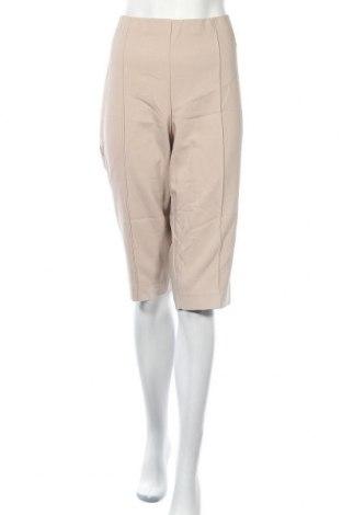 Дамски панталон Cosma, Размер XXL, Цвят Бежов, 58% памук, 39% полиестер, 3% еластан, Цена 15,02лв.