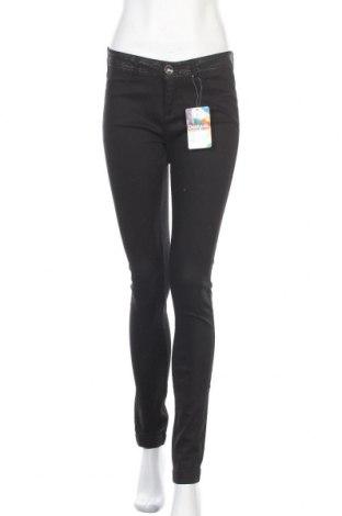 Γυναικείο παντελόνι Desigual, Μέγεθος L, Χρώμα Μαύρο, 70% βαμβάκι, 27% πολυεστέρας, 3% ελαστάνη, Τιμή 29,44€
