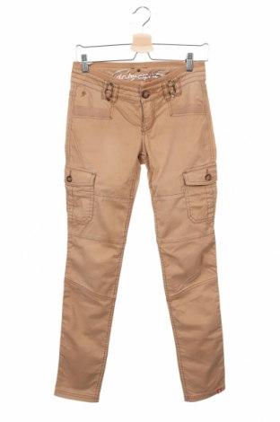Γυναικείο παντελόνι Edc By Esprit, Μέγεθος S, Χρώμα Καφέ, 97% βαμβάκι, 3% ελαστάνη, Τιμή 14,94€