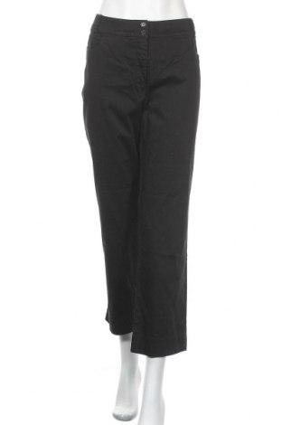 Γυναικείο παντελόνι Gina Laura, Μέγεθος XL, Χρώμα Μαύρο, 97% βαμβάκι, 3% ελαστάνη, Τιμή 14,55€