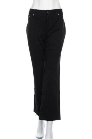 Дамски панталон INC International Concepts, Размер L, Цвят Черен, 60% вискоза, 35% полиамид, 5% еластан, Цена 12,08лв.