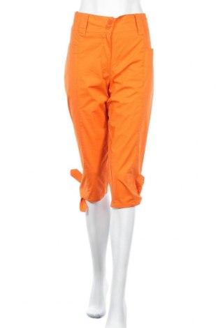 Дамски панталон Infinity, Размер L, Цвят Оранжев, 98% памук, 2% еластан, Цена 23,94лв.