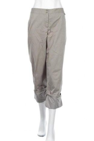 Дамски панталон J.Jill, Размер L, Цвят Зелен, 100% памук, Цена 9,24лв.