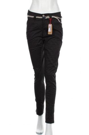 Γυναικείο παντελόνι Kangaroos, Μέγεθος S, Χρώμα Μαύρο, 98% βαμβάκι, 2% ελαστάνη, Τιμή 10,67€