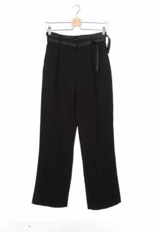Дамски панталон Kiomi, Размер XS, Цвят Черен, 79% полиестер, 17% вискоза, 4% еластан, Цена 12,82лв.