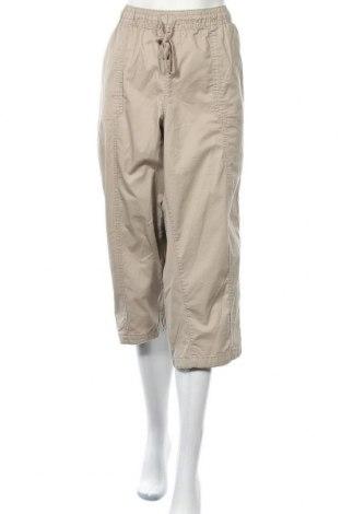 Дамски панталон Lane Bryant, Размер XXL, Цвят Бежов, 97% памук, 3% еластан, Цена 23,94лв.