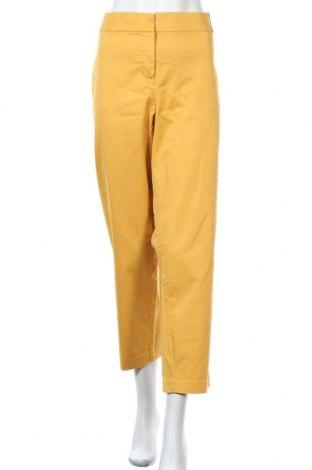 Дамски панталон Lane Bryant, Размер XXL, Цвят Оранжев, 97% памук, 3% еластан, Цена 82,95лв.