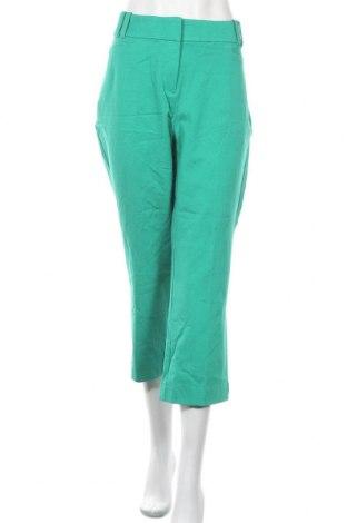 Дамски панталон Lane Bryant, Размер XL, Цвят Зелен, 95% памук, 5% еластан, Цена 28,67лв.