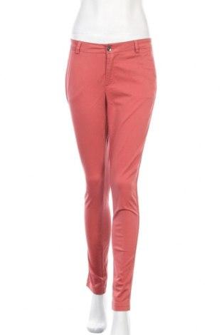 Дамски панталон Liu Jo, Размер S, Цвят Оранжев, 97% памук, 3% еластан, Цена 97,30лв.