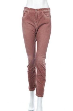 Дамски панталон Mac, Размер M, Цвят Кафяв, 98% памук, 2% еластан, Цена 27,30лв.