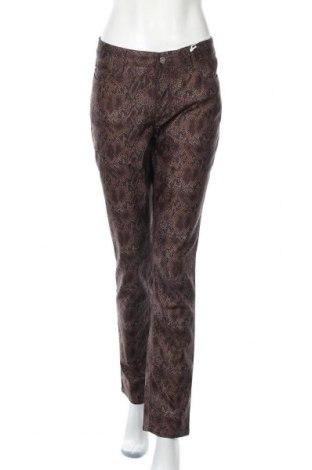 Дамски панталон Mac, Размер XL, Цвят Кафяв, 68% памук, 29% полиестер, 3% еластан, Цена 83,30лв.
