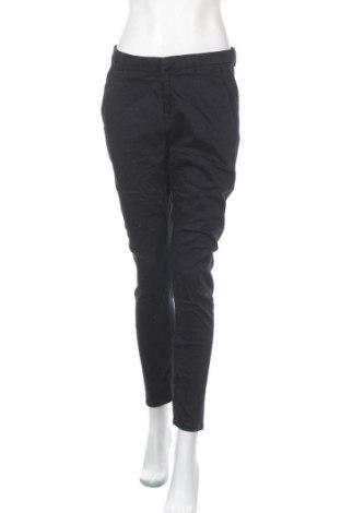 Дамски панталон Maison Scotch, Размер M, Цвят Син, 91% памук, 7% полиестер, 2% еластан, Цена 41,90лв.
