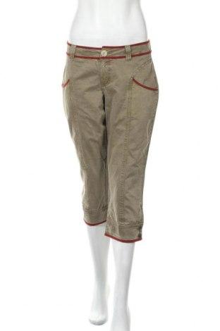 Γυναικείο παντελόνι Mexx, Μέγεθος L, Χρώμα Πράσινο, Βαμβάκι, Τιμή 13,51€