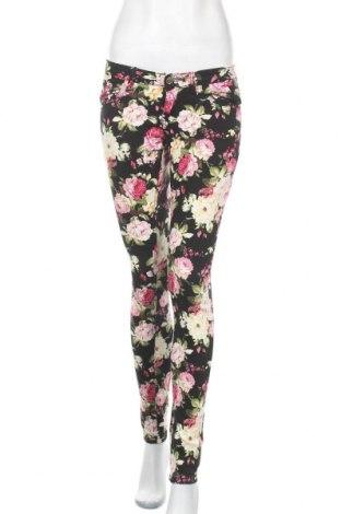Дамски панталон Miss Anna, Размер S, Цвят Многоцветен, 75% памук, 24% полиестер, 1% еластан, Цена 10,40лв.