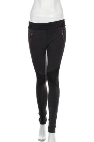 Дамски панталон Miss Anna, Размер M, Цвят Сив, 68% памук, 27% полиестер, 5% еластан, Цена 33,80лв.
