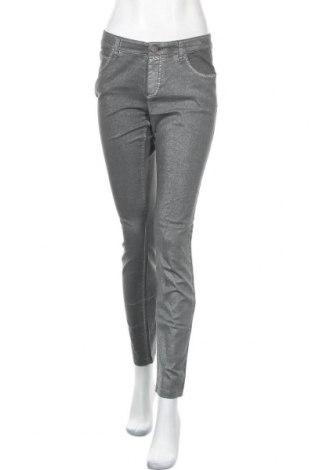 Дамски панталон Oui, Размер M, Цвят Сив, 98% памук, 2% еластан, Цена 7,83лв.