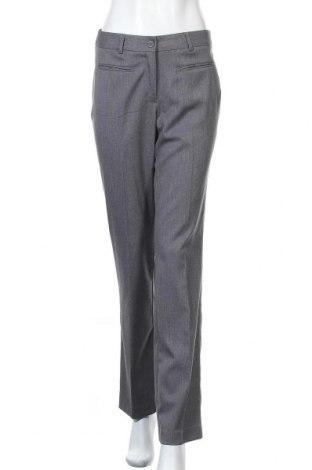 Дамски панталон Patrizia Dini, Размер S, Цвят Сив, 64% полиестер, 34% вискоза, 2% еластан, Цена 26,46лв.