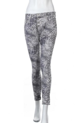 Дамски панталон Place du Jour, Размер M, Цвят Сив, 97% памук, 3% еластан, Цена 14,70лв.