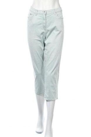 Дамски панталон Raphaela By Brax, Размер XL, Цвят Син, 86% памук, 14% еластан, Цена 36,91лв.